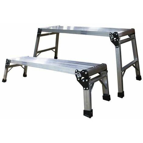 Juego de 2 plataformas de aluminio JBM 50656