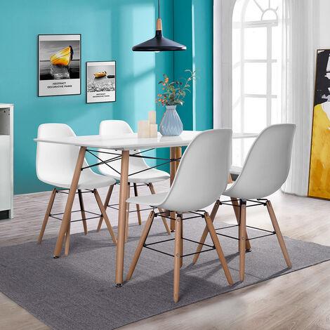 Juego de 4 sillas ,Sillas de Comedor Modernas,Silla de Cocina con Respaldo