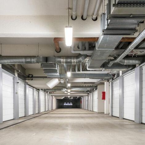 Juego de 6 luces de tinas de techo LED húmedas -raum iluminación de sótano industria almacén taller lámparas