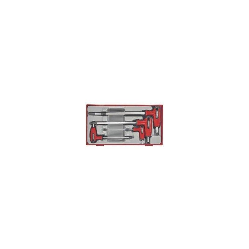 Teng Tools - Juego de 7 llaves T hexagonales TTHEX7S TENGTOOLS