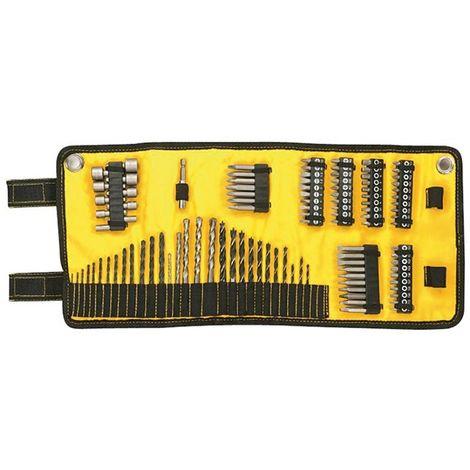 Juego de 98 piezas para atornillar enrollable. Brocas para madera : 3, 3.2, 3.5, 4, 4.5, 4.8, 5, 5.5, 6, 6.5, 7, 7.5, 8 mm. Broc