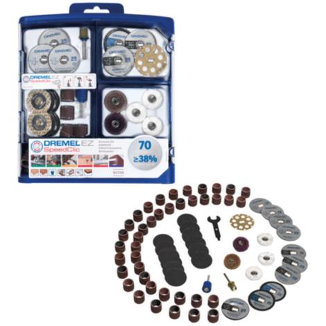juego de accesorios multiusos ez speedclic (sc725) Dremel