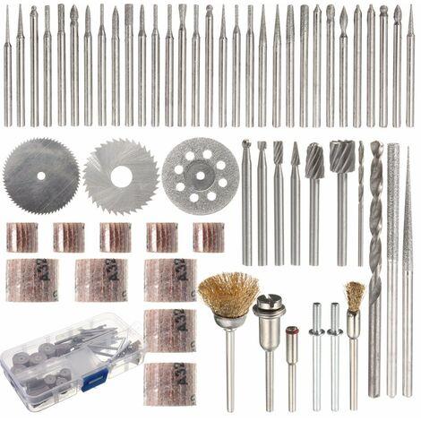 Juego de accesorios para herramientas rotativas de 58 piezas Dremel Grinding Fits