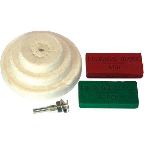 Juego de accesorios para pulido, 6 pzas 50, 75, 100 mm - NEOFERR
