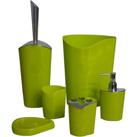 Juego de baño de seis piezas,4 modelos a elegir. Diseño Moderno, con estilo Sofisticado - Hogar y Más Verde