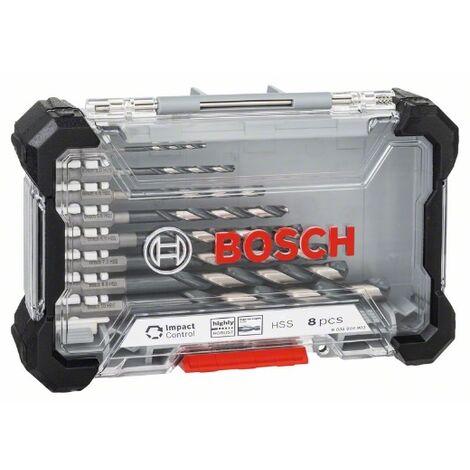 Juego de brocas de metal 8pcs. Bosch HSS Impact Control
