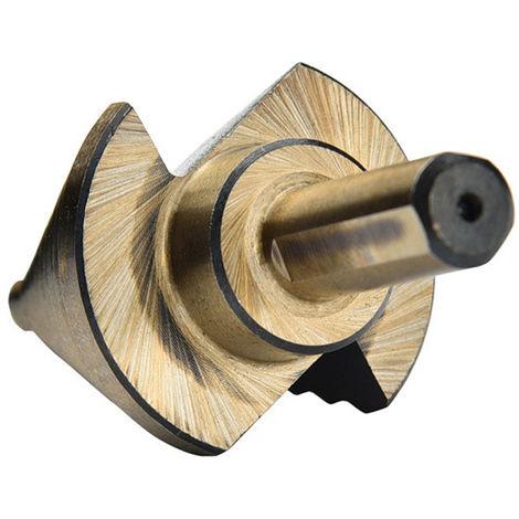 Juego de brocas escalonadas de acero de alta velocidad, 5 piezas