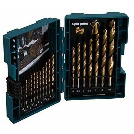 Juego de brocas para metal HSS-TIN 19pcs MAKITA D-67527