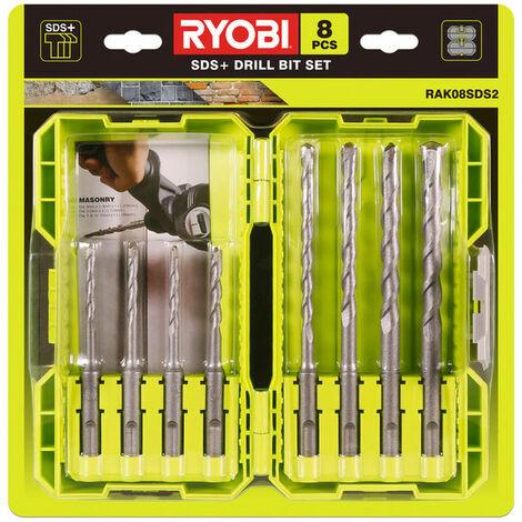 Juego de brocas SDS Plus de 8 unidades Ryobi RAK08SDS2