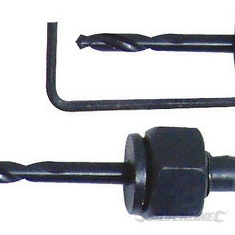 Juego de coronas perforadoras. 11 pzas (Ø21 - 64 mm)