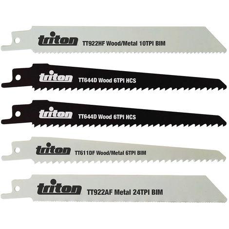 Juego de cuchillas para sierra sable, 5 pzas 150 mm - NEOFERR