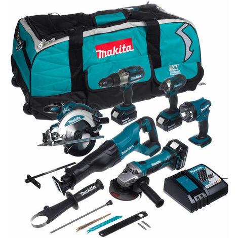 Juego de herramientas COMBO de 18V Makita DLX6043T