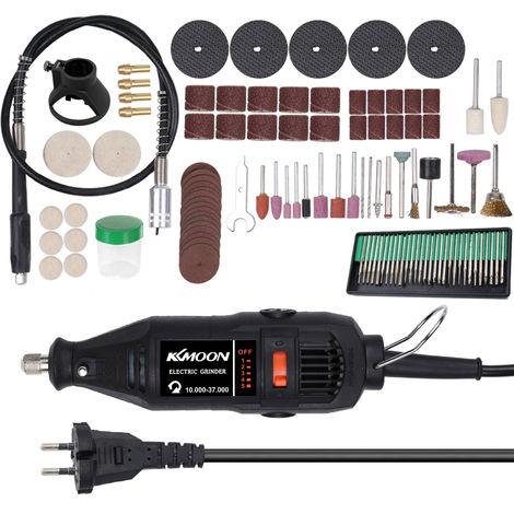 Juego de herramientas de molienda electrica, brocas de pulido de la maquina de corte y molienda