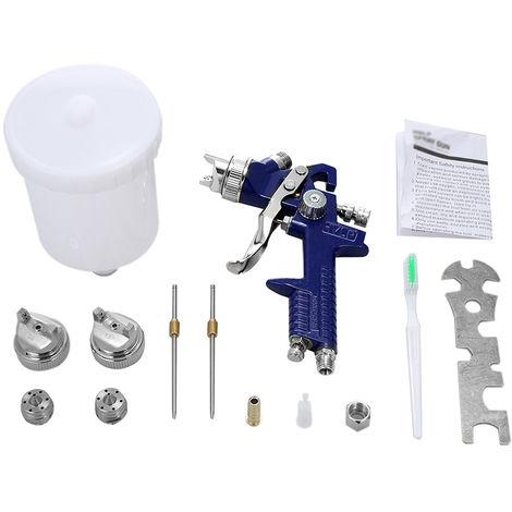 Juego de herramientas Mini Air Paint Spray, con boquillas de 1.4 mm 1.7 mm 2.0 mm