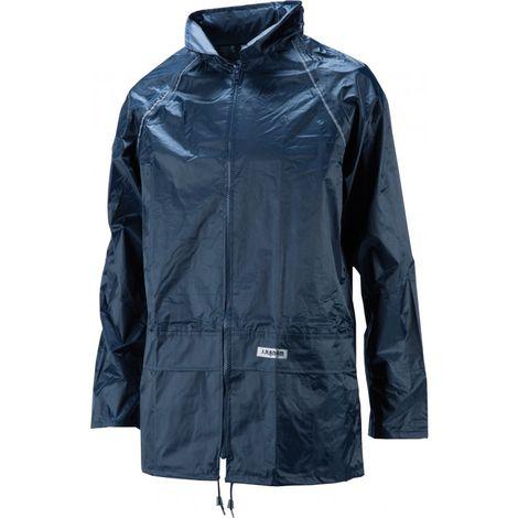 Juego de lluvia Aqua,Talla L, azul marino