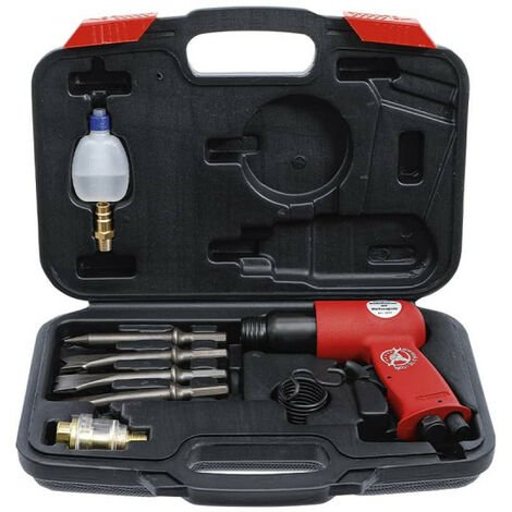 Juego de martillos neumáticos y herramientas BGS - 8 piezas - 3213