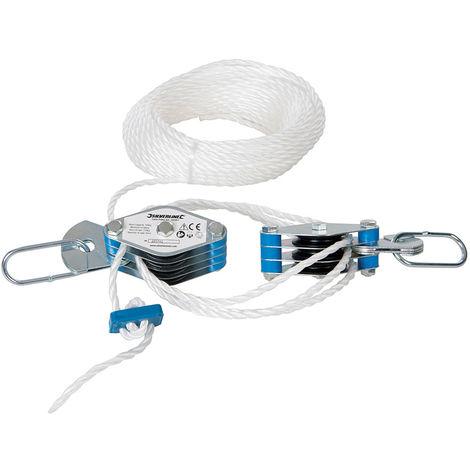 Juego de poleas de cable 180 kg - NEOFERR