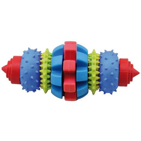Juego de Rollball para perros ideal para mordeduras medianas 16 cm