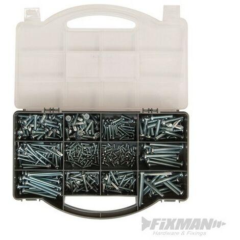 Juego de tornillos para metal (450 pzas)