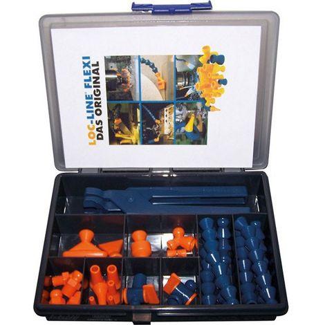 Juego de tubos flexibles para líquido refrigerante 1/2'' Flexi Box, 27 unidades
