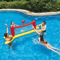JUEGO PISCINA VOLLEYBALL SET INFLABLE