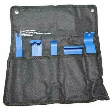 juego sacamolduras,palancas para extraccion de paneles, puertas,grapas 5 piezas