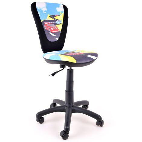 Jugend Drehstuhl Schreibtisch Stuhl Spielzimmer Kinderzimmer Bürostuhl für Kinder Motiv TURBO