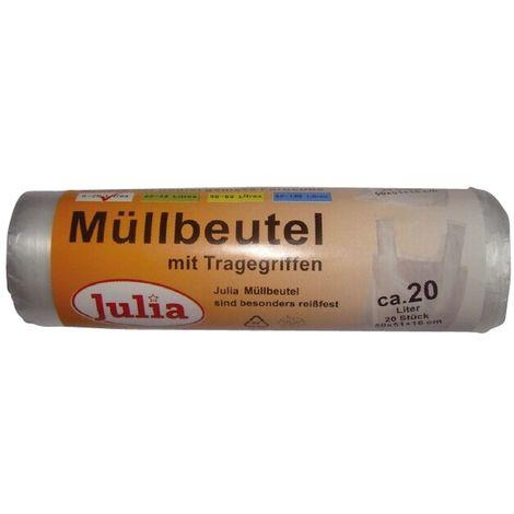 Julia Mülleimerbeutel natur, ca. 20 Liter