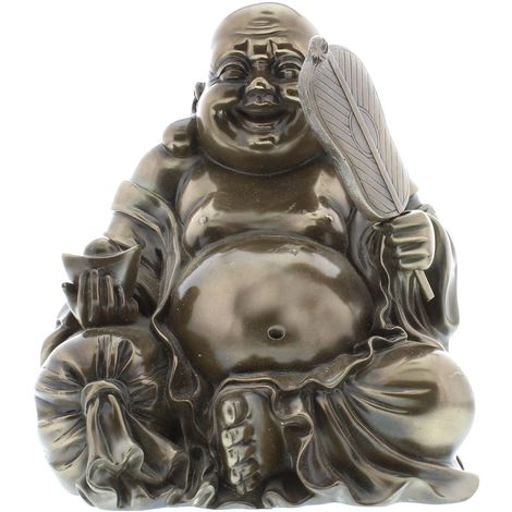 Juliana Gifts Medium Bronze Buddha Figurine - Sitting