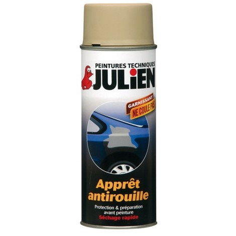 JULIEN - Bombe carrosserie vehidécor apprêt antirouille - 400 mL