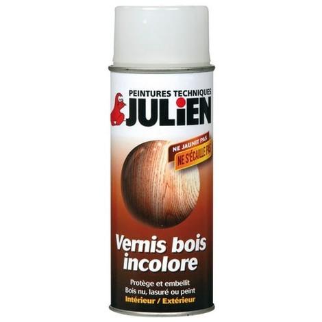 "main image of ""JULIEN - Bombe vernis bois - 400 mL - incolore satin"""