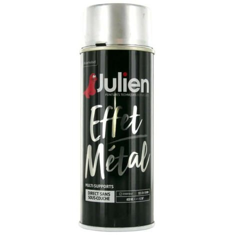 Julien gold metal spray paint effect 400ml