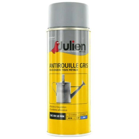 Julien gray spray paint rust 400ml