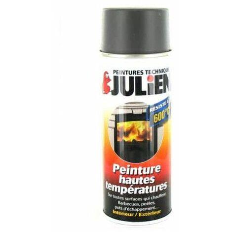 JULIEN pintura en aerosol de alta temperatura aluminio satinado 400ml