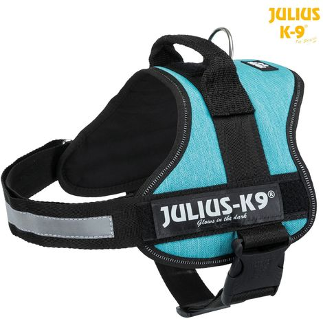 Julius-k9® harnais power - 0/M: 58-76 cm/40 mm, océan