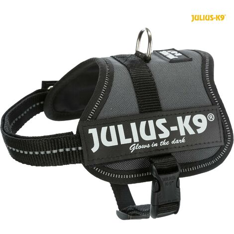 Julius K9 harnais Power Baby 2-XXS 33-45cm H18mm anthracite