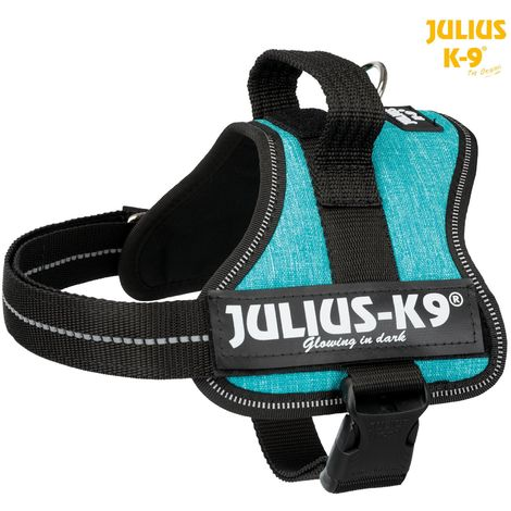 Julius-k9® harnais power - mini/S: 51-67 cm/28 mm, océan