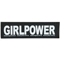 Julius K9 Velcro Sticker Large Girlpower