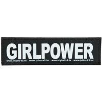 Julius K9 Velcro Sticker Large Girlpower