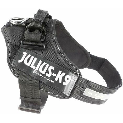 Julius-K9Bâts avec K9Verrou de sécurité, Taille 1, Noir