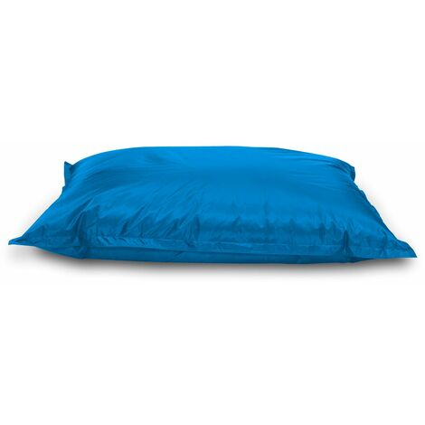 Jumbo Bean Bag Chair/Lounger Outdoor & Indoor (Water and Weather Resistant) - Aqua