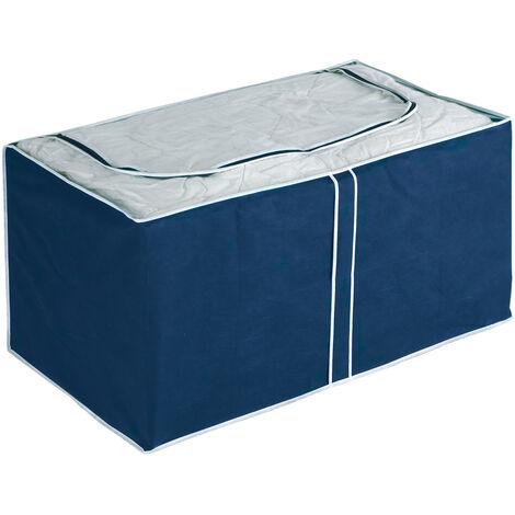 Jumbo Box Air Kleiderbox Schutz Staub Kleidung Textilien Aufbewahrung 91x48x53cm