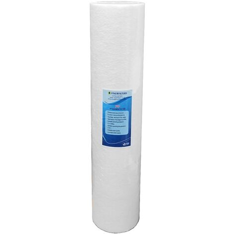 "Jumbo Sediment Water Filter ¦ 20"" x 4.5"" - 5 Micron ¦ Spun Polypropylene"