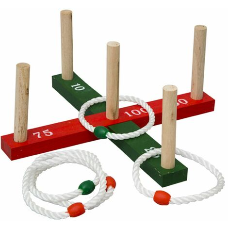 """main image of """"Jumbo-Sized Family Garden Outdoor Summer Games - Quoits"""""""
