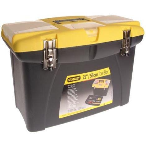 Jumbo Toolbox 22in + Tray
