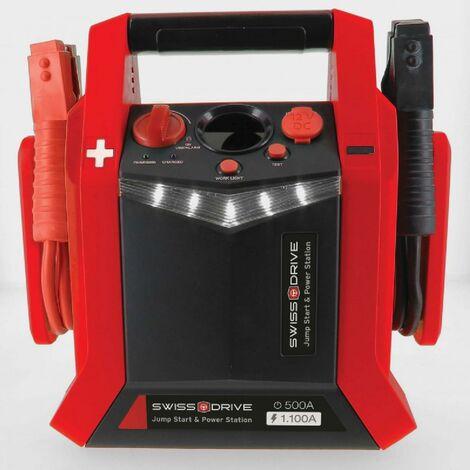 Jump Starter 12v 500-1100a Avec Compresseur