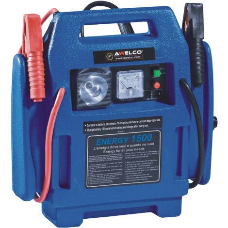mws Avviatore Emergenza Portatile auto12v Jump Starter Air Compressor con compressore e Torcia