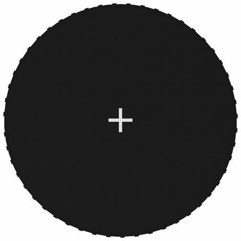 Jumping Mat Fabric Black for 10 Feet/3,05 m Round Trampoline
