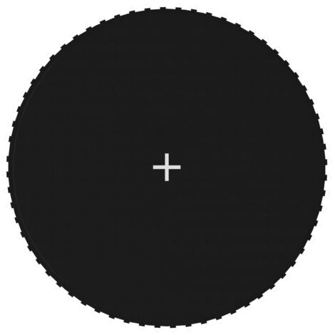 Jumping Mat Fabric Black for 12 Feet/3,66 m Round Trampoline