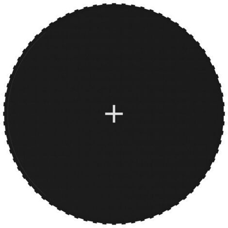 Jumping Mat Fabric Black for 13 Feet/3,96 m Round Trampoline